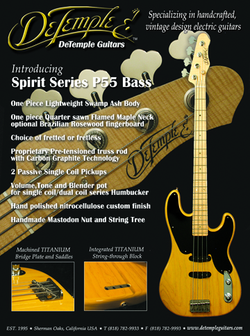 Spirit Series P55 Bass